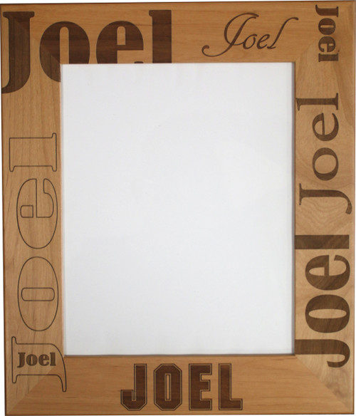 Single Name Frame