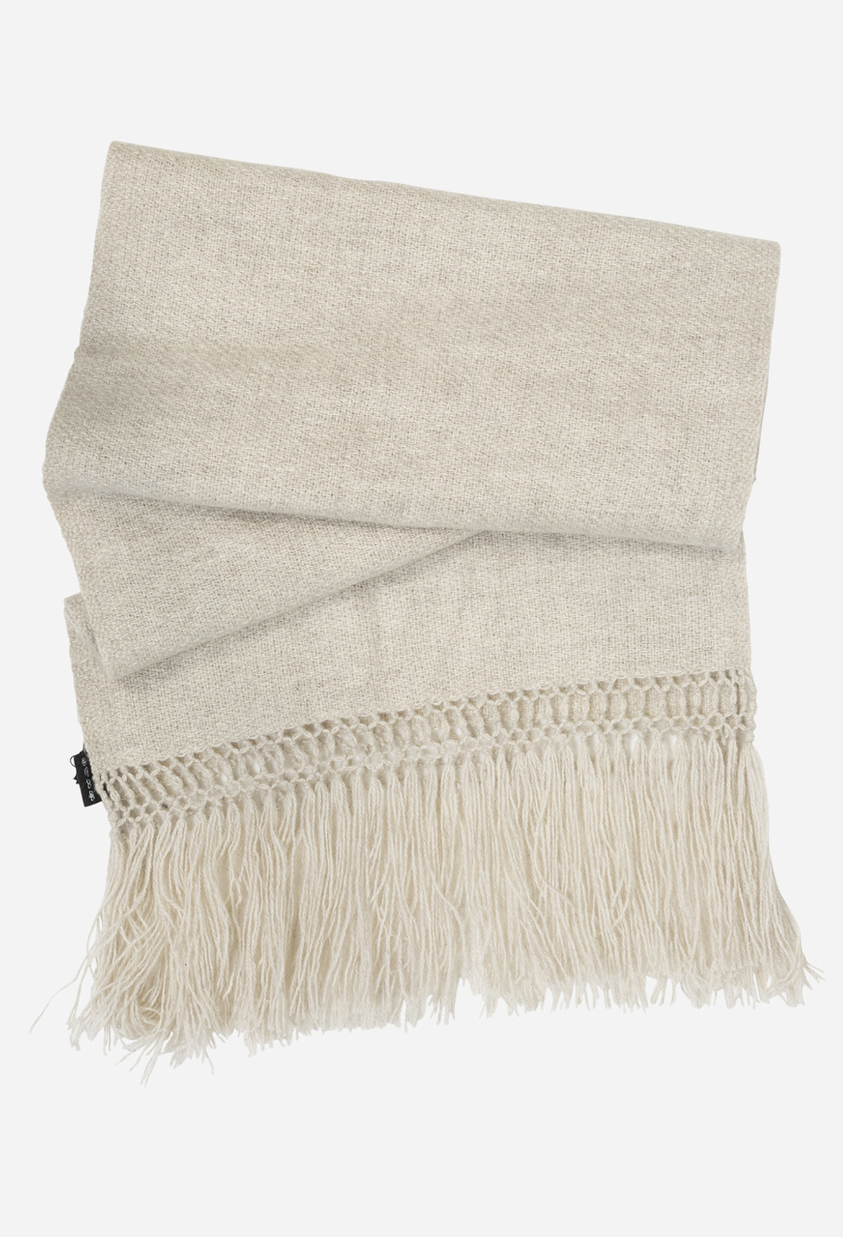 Oyster Knitted Maxi Scarf