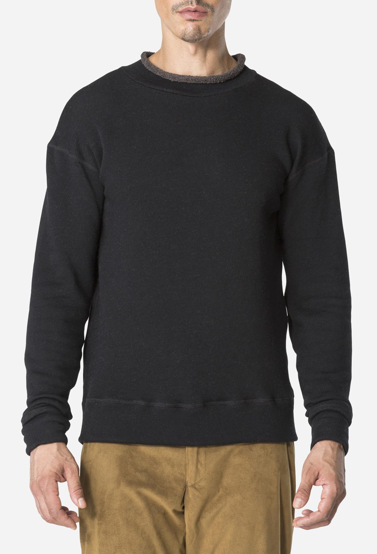 Black Rollneck Pullover