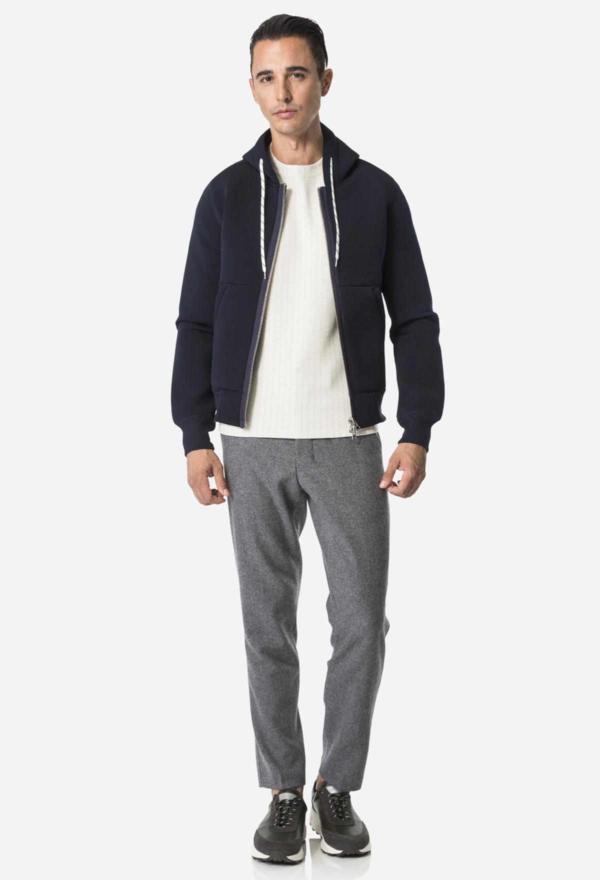 Grey Carrott Shaped Trouser