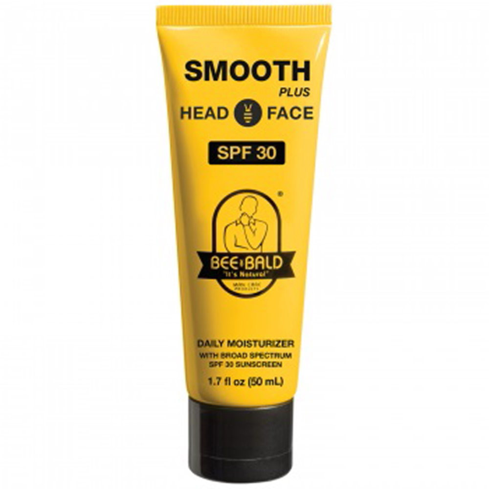 BEE BALD?? SMOOTH PLUS WITH BROAD SPRECTRUM SPF 30 - 1.7 oz. Tube
