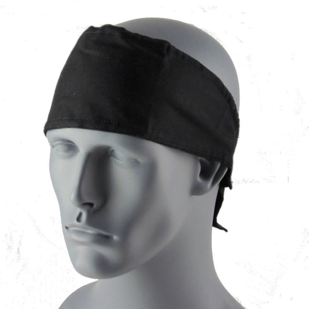 Black Head Wrap With Hook & Loop Strap