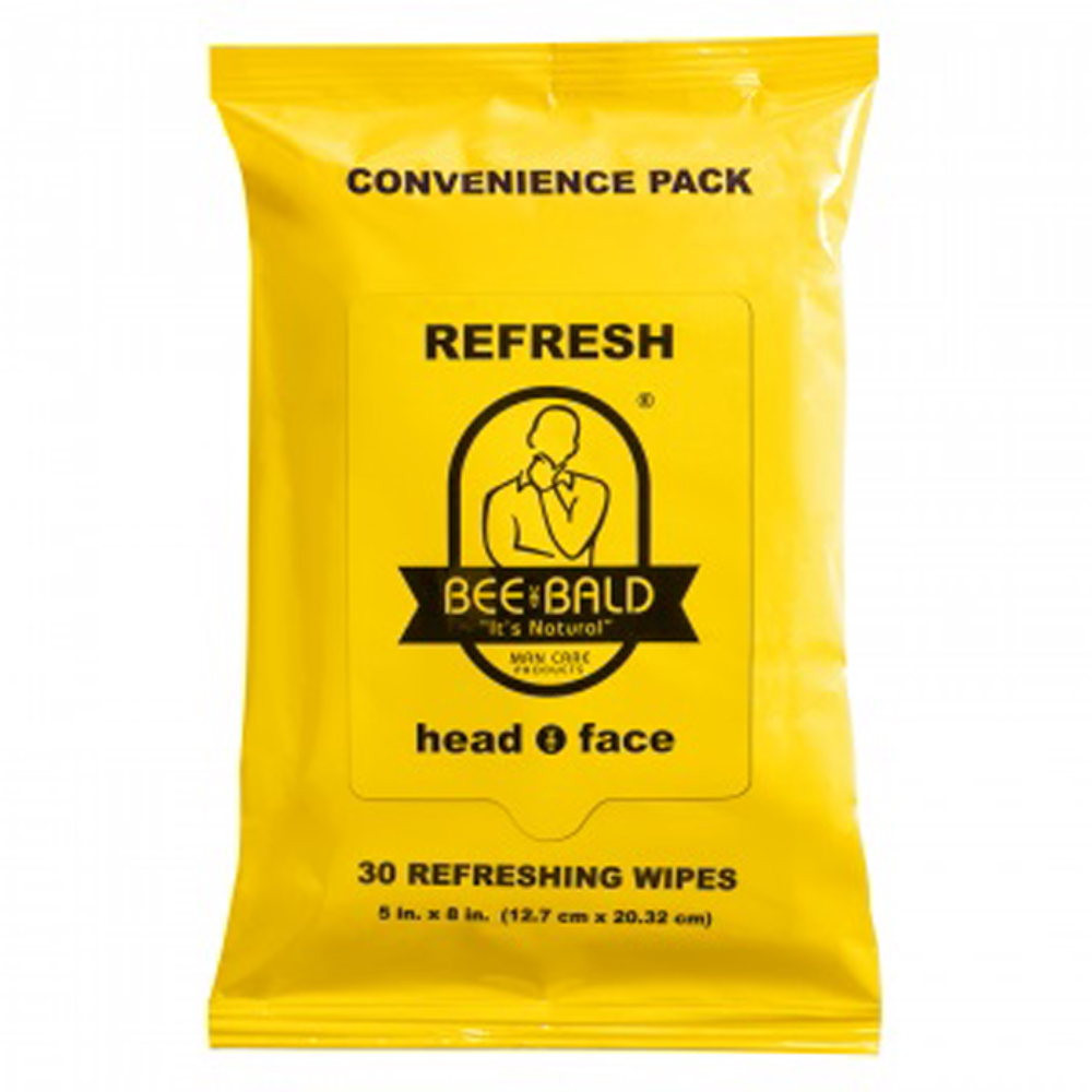 BEE BALD?? REFRESH Convenience Pack - 30 CT