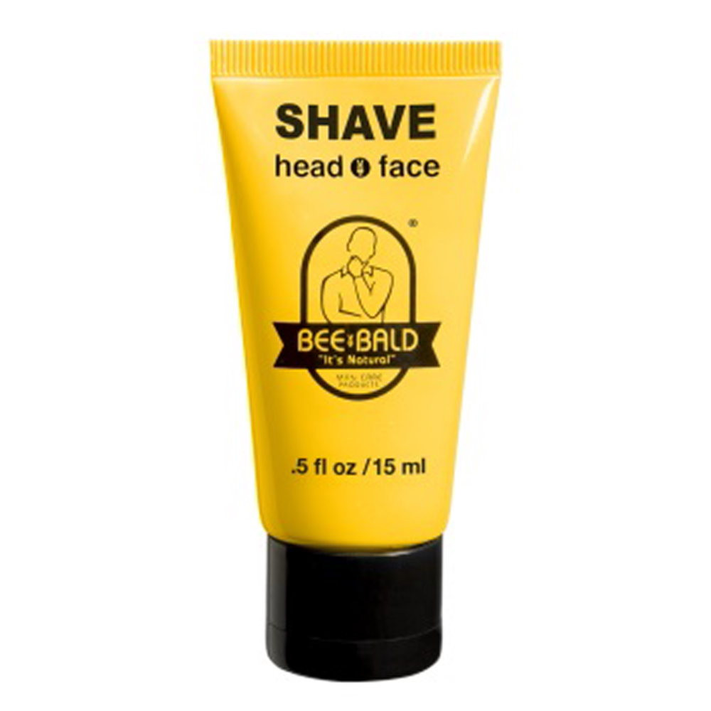 BEE BALD?? SHAVE TRAVEL SIZE - .5 oz. Tube