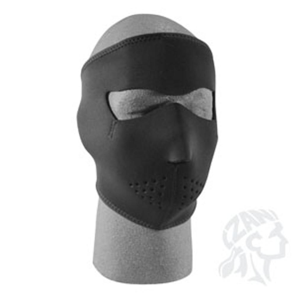 Solid Black - Neoprene Face Mask