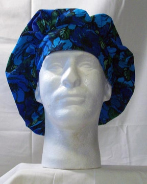 Bouffant Style Scrub Cap - Flower Mix