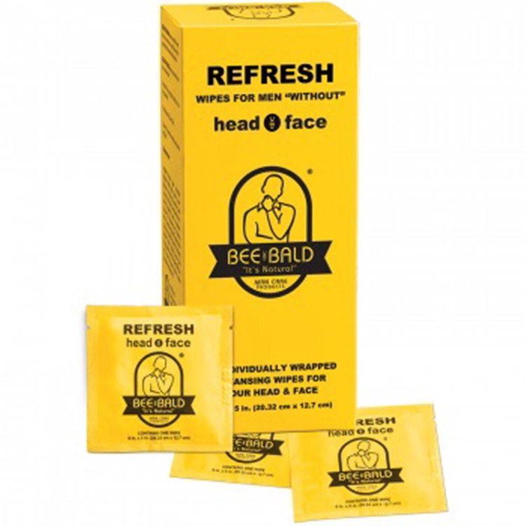 BEE BALD?? REFRESH Individual Packs - 30 CT