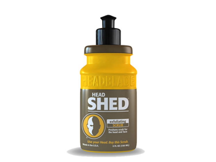 HeadBlade HeadShed Scrub - 5oz