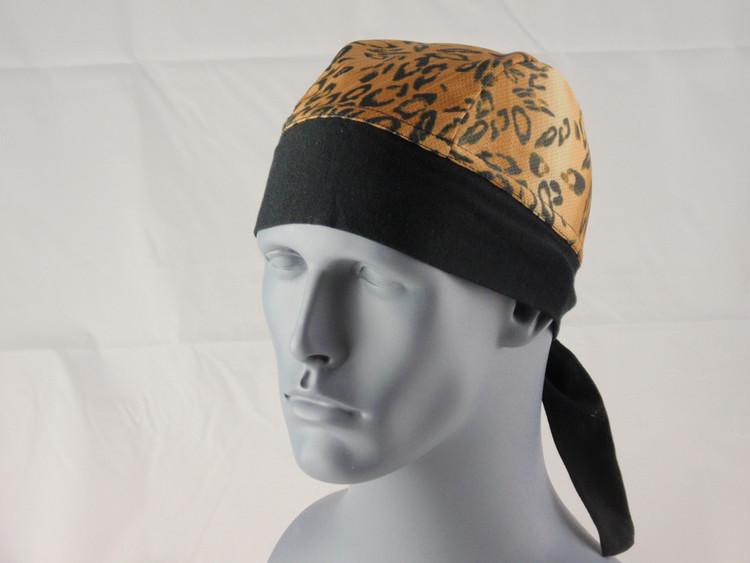 Schampa, Z-wrap, Stretch Bandana, Wild Leopard Brown
