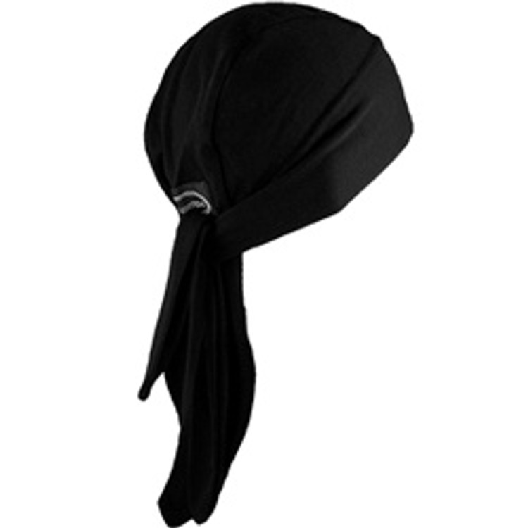Schampa-Tri-Danna-Z-Wrap-Stretch-Bandana-Solid-Black