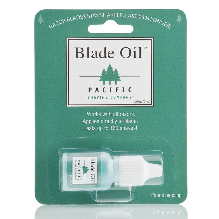 Blade Oil Bottle- Pacific Shaving Company