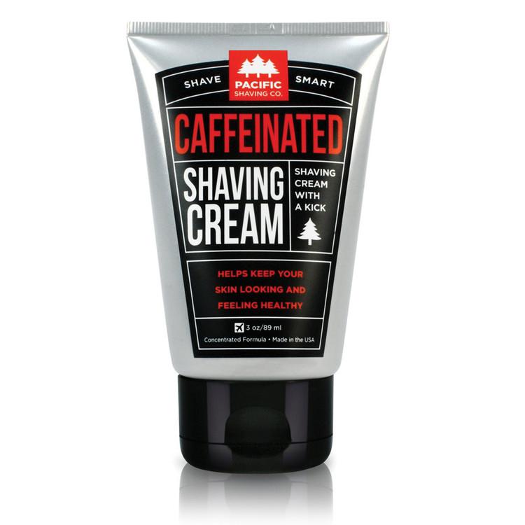 Caffeinated Shaving Cream - Pacific Shaving Company