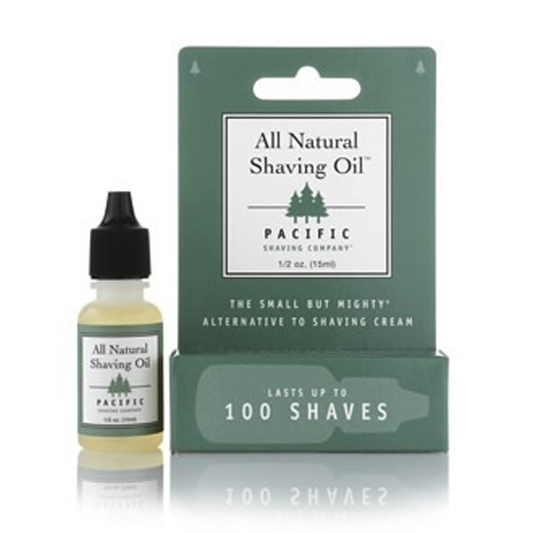 All Natural Shaving Oil - Pacific Shaving Company