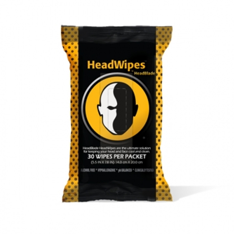 HeadWipes - 30 pack - By HeadBlade