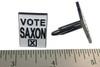 Vote Saxon Cufflinks