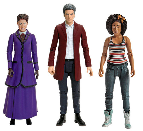"A Sneak Peek at All the New 'Doctor Who' 5.5"" Figures"