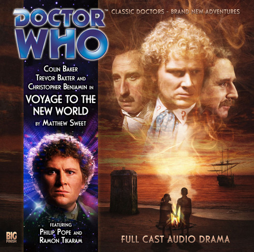 Voyage to The New World - A Big Finish Special Audio CD