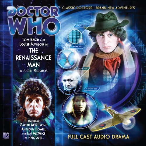 The 4th Doctor Stories #1.2 - The Renaissance Man - Big Finish Audio CD