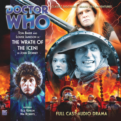 The 4th Doctor Stories #1.3 - The Wrath of the Iceni - Big Finish Audio CD