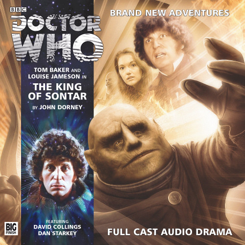 The 4th Doctor Stories #3.1 - The King of Sontar - Big Finish Audio CD