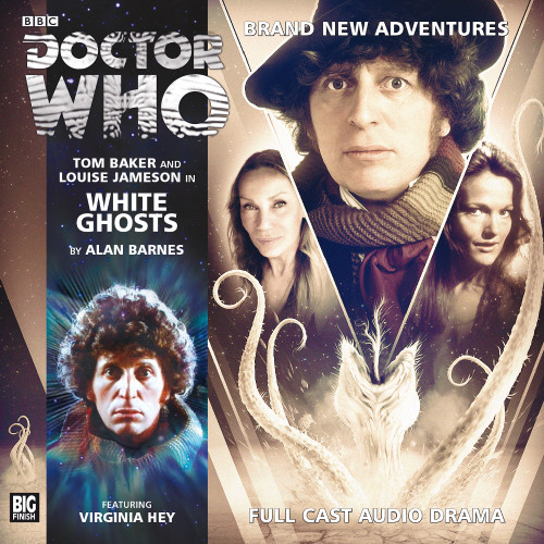 The 4th Doctor Stories #3.2 - White Ghosts - Big Finish Audio CD