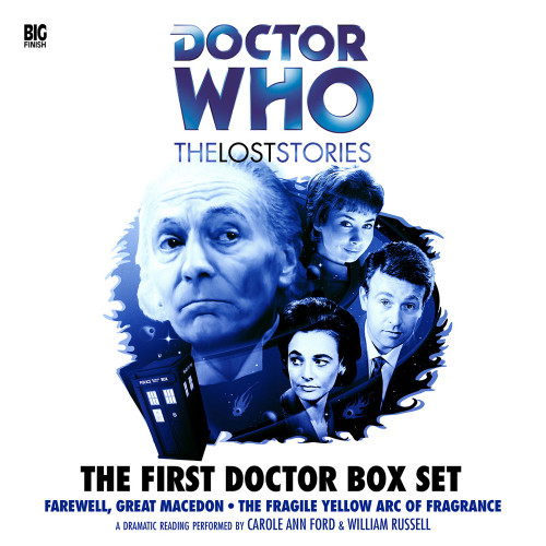 First Doctor Box Set - The Lost Stories - Big Finish Box Set