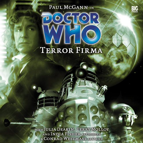Terror Firma - Big Finish 8th Doctor Audio CD #72
