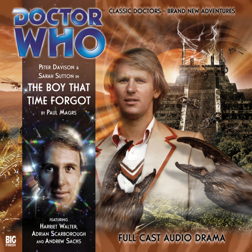 The Boy that Time Forgot - Audio CD - Big Finish #110