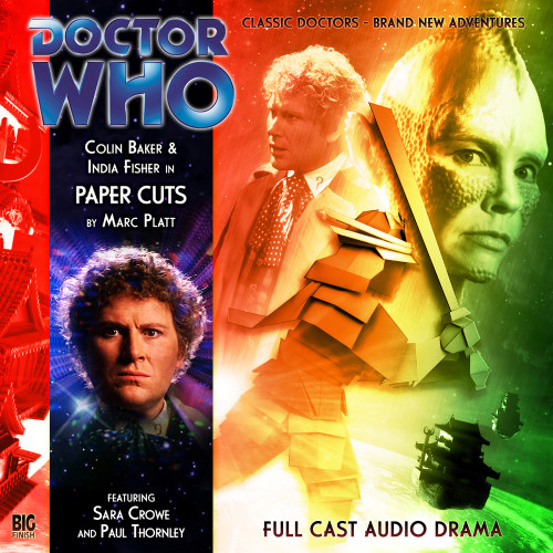 Paper Cuts - Big Finish Audio CD #125