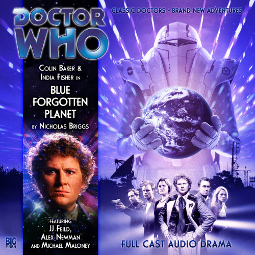 Blue Forgotten Planet - Big Finish Audio CD #126