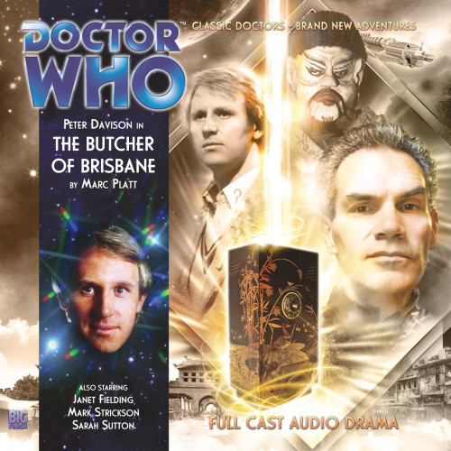 The Butcher of Brisbane - Big Finish 5th Doctor Audio CD #161