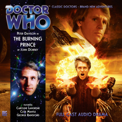 The Burning Prince - Big Finish 5th Doctor Audio CD #165