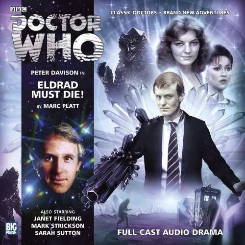 Eldrad Must Die - Big Finish 5th Doctor Audio CD #172