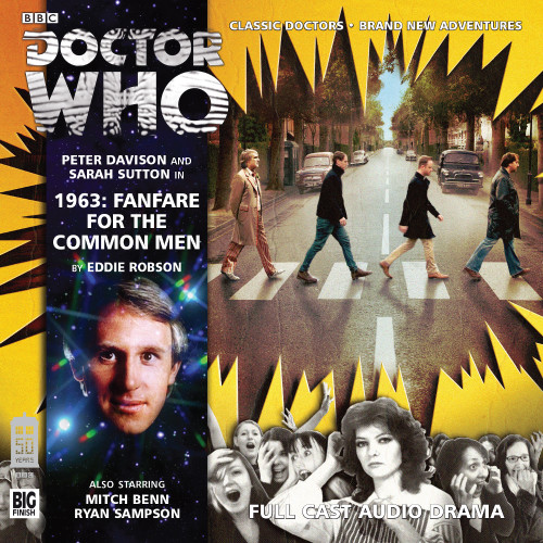 1963: Fanfare for the Common Men - Big Finish 5th Doctor Audio CD #178