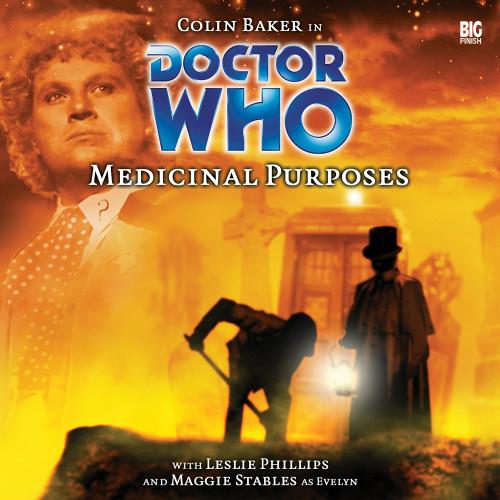 Medicinal Purposes - Big Finish 6th Doctor Audio CD #60
