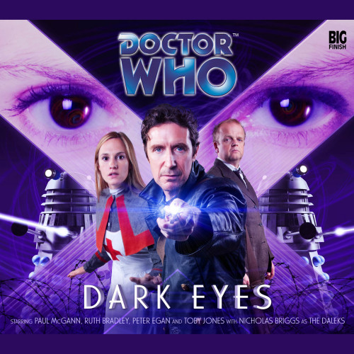 Doctor Who DARK EYES Eighth Doctor (Paul McGann) Audio Drama Boxed Set #1 from Big Finish