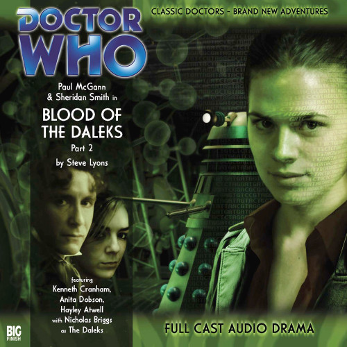 The Eighth Doctor Adventures 1.2 - Blood of the Daleks Part #2 Big Finish Audio CD