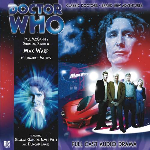 The Eighth Doctor Adventures 2.2 - Max Warp Big Finish Audio CD