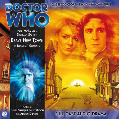 The Eighth Doctor Adventures 2.3 - Brave New Town Big Finish Audio CD