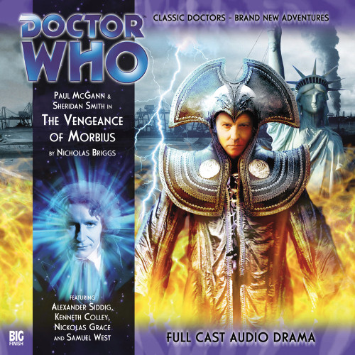 The Eighth Doctor Adventures 2.8 - Vengeance of Morbius Big Finish Audio CD