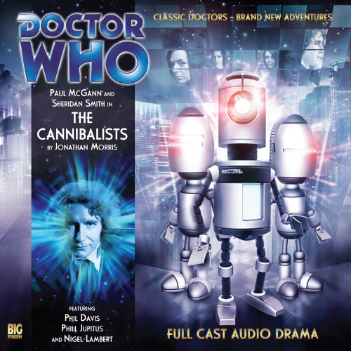 The Eighth Doctor Adventures 3.6 - The Cannibalists Big Finish Audio CD