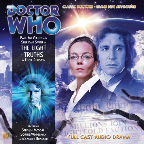 The Eighth Doctor Adventures 3.7 - The Eight Truths Big Finish Audio CD