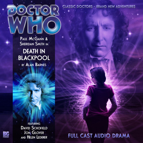 The Eighth Doctor Adventures 4.1 - Death in Blackpool Big Finish Audio CD
