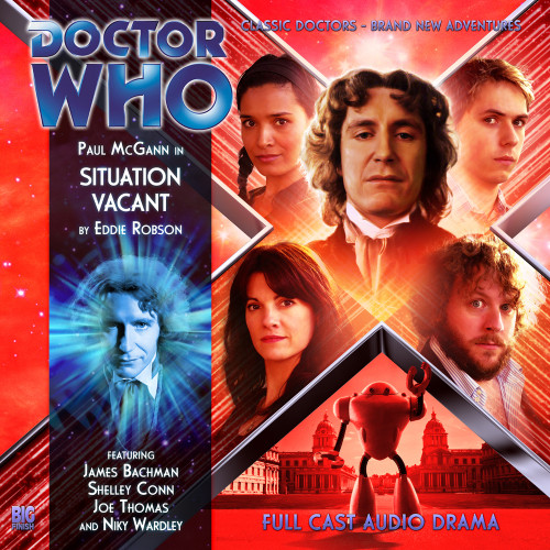 The Eighth Doctor Adventures 4.2 - Situation Vacant - Big Finish Audio CD