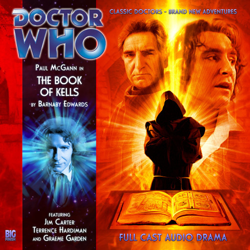 The Eighth Doctor Adventures 4.4 - The Book of Kells Big Finish Audio CD