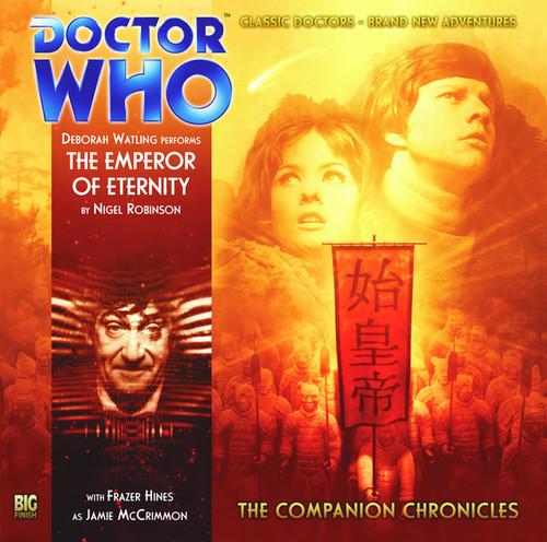 Companion Chronicles - The Emperor of Eternity - Big Finish Audio CD 4.8