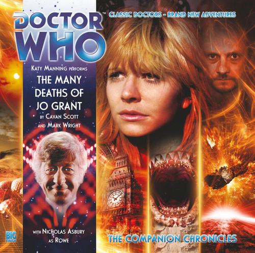 Companion Chronicles - The Many Deaths of Jo Grant - Big Finish Audio CD 6.4