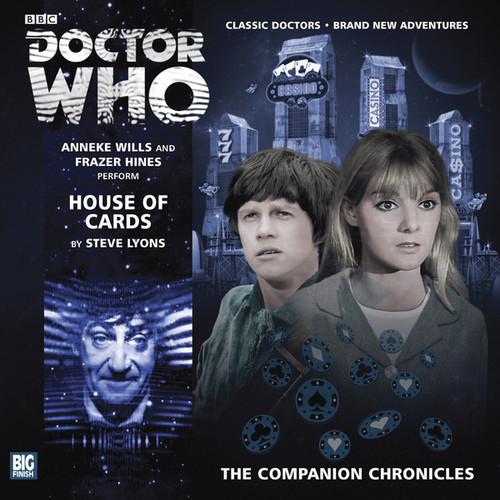 Companion Chronicles - House of Cards - Big Finish Audio CD 7.8