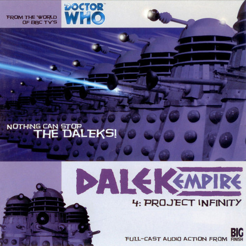 Dalek Empire: Project Infinity- Big Finish Audio CD
