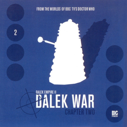 Dalek Empire: Dalek War Chapter 2- Big Finish Audio CD